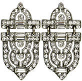 Ben-Amun Crystal Geometric Earrings