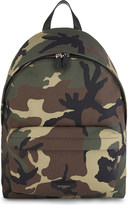 Givenchy Camo canvas backpack
