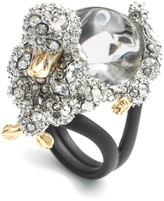 Alexis Bittar Jelly Belly Poodle Cocktail Ring