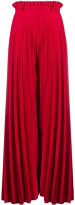 Couture Atu Body Anthurium palazzo pants