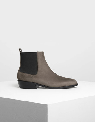 Charles & Keith Classic Ankle Boots