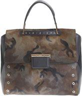 Furla Camouflage Leather Artesia Bag
