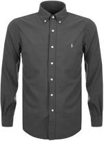 Ralph Lauren Slim Beach Twill Shirt Grey