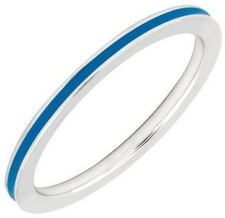 Simply Stacks Sterling Epoxy Enamel 1.5mm Stackable Ring