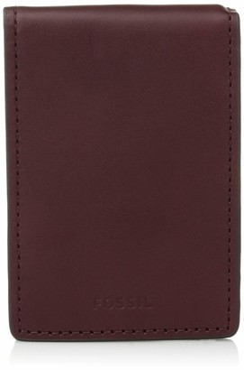 Fossil Men's Simon Leather Bifold Flip ID Wallet