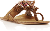 Figue Striped Tassel Scaramouche Sandal