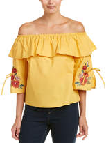 Flying Tomato Off-The-Shoulder Top