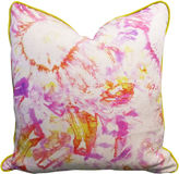 Kim Salmela Kit Flare 20x20 Cotton Pillow, Citrus