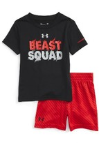 Under Armour Infant Boy's Beast Squad Heatgear T-Shirt & Shorts Set