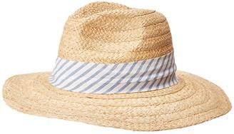 Hat Attack Daily Fedora (Navy Stripe) Caps