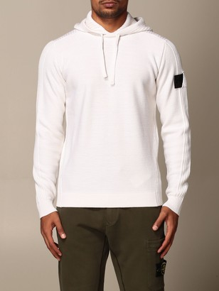 Stone Island Shadow Sweatshirt With Hood