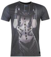 Firetrap Blackseal Riot Helmet T Shirt