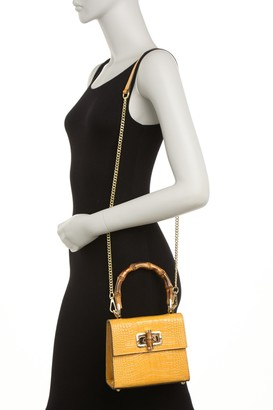Persaman New York Bellia Convertible Leather Clutch