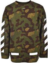 Off-White Diag Camouflage Sweatshirt