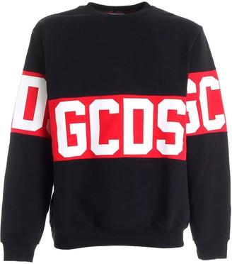 GCDS Band Logo Crewneck