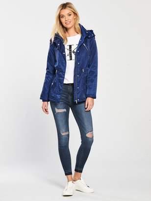 Very Fleece Lined Windcheater Jacket - Blue