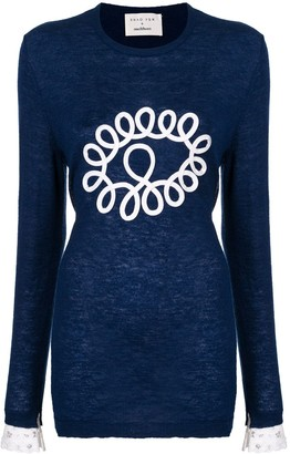 Onefifteen Applique Jumper