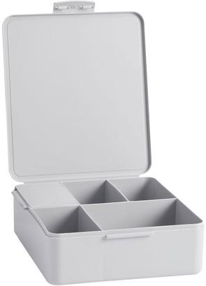 Pottery Barn Teen Gray Plastic Bento Box