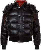 Alexander McQueen Leather Puffer Jacket