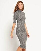 Superdry Freja Collar Midi Dress