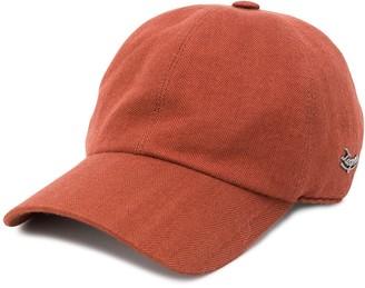Ermenegildo Zegna Weave Pattern Baseball Cap