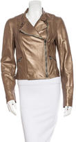 Haute Hippie Leather Biker Jacket