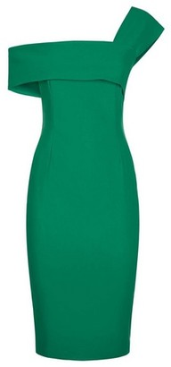 Dorothy Perkins Womens *Vesper Green Emerald Pencil Dress, Green