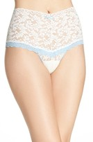 Hanky Panky Women's 'Retro' Contrast Trim High Waist Thong