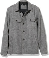 L.L. Bean Signature Lined Wool-Blend Shirt Jacket, Slim Fit