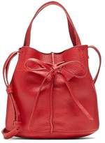 Banana Republic Italian Leather Bow Bucket Bag