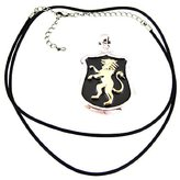 Summit Lion Shield Pendant - Collectible Medallion Necklace Accessory Jewelry