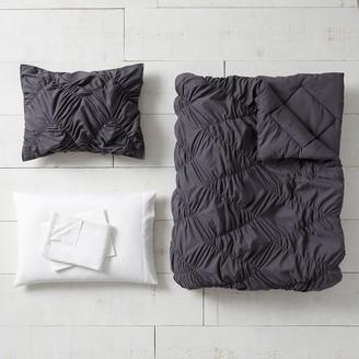 Pottery Barn Teen Whimsical Waves Twin XL Comforter Bundle