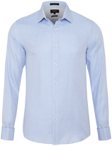 Oxford Beckton French Cuff Shirt Blue X