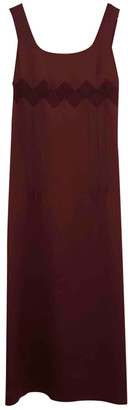 La Perla Burgundy Silk Dresses