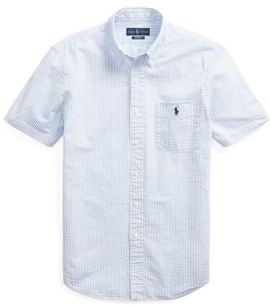 6b98f7bd Classic Fit Seersucker Shirt