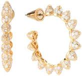 Eddie Borgo Gold-Tone Pave Mini Cone Hoop Earrings