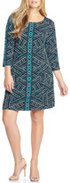Tart Nessa Geo Print Shift Dress (Plus Size)