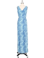 Kelly Wearstler Unna Printed Gown