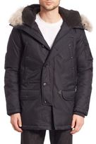 Spiewak Fur-Trimmed Aviation N3-B Parka