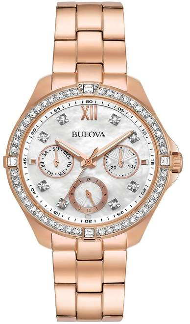 0dc2ff56b Bulova Gold Women's Watches - ShopStyle