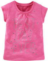 Osh Kosh Best Day Sparkle Tee