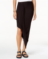 Bar III Draped Asymmetrical Skirt, Only at Macy's