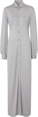 Burberry Jersey Shirt Dress