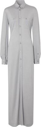 Burberry Jersey Shirt Dress