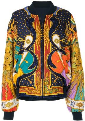 Hermes pre-owned Carpe Diem reversible bomber jacket