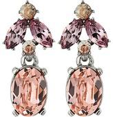 Oscar de la Renta Floral Navette Small Drop P Earrings Earring