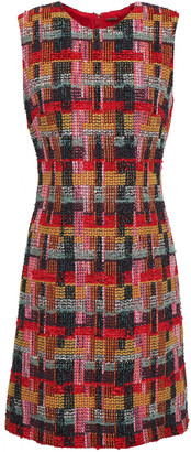 Adam Lippes Boucle-tweed Mini Dress