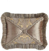 "Dian Austin Couture Home Winter Twilight Patch Pillow, 12"" x 16"""