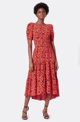 Joie Nadeen Silk Midi Dress
