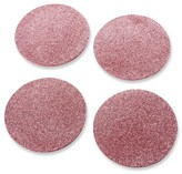 Kate Aspen 16ct Pink Glitter Coasters